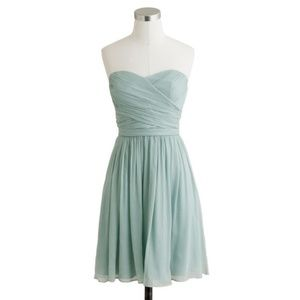 SALE! J Crew Seafoam Dress- Arabelle